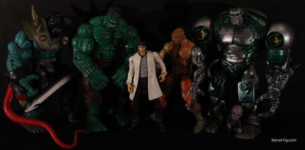 Hulk wave 2 Group Shot